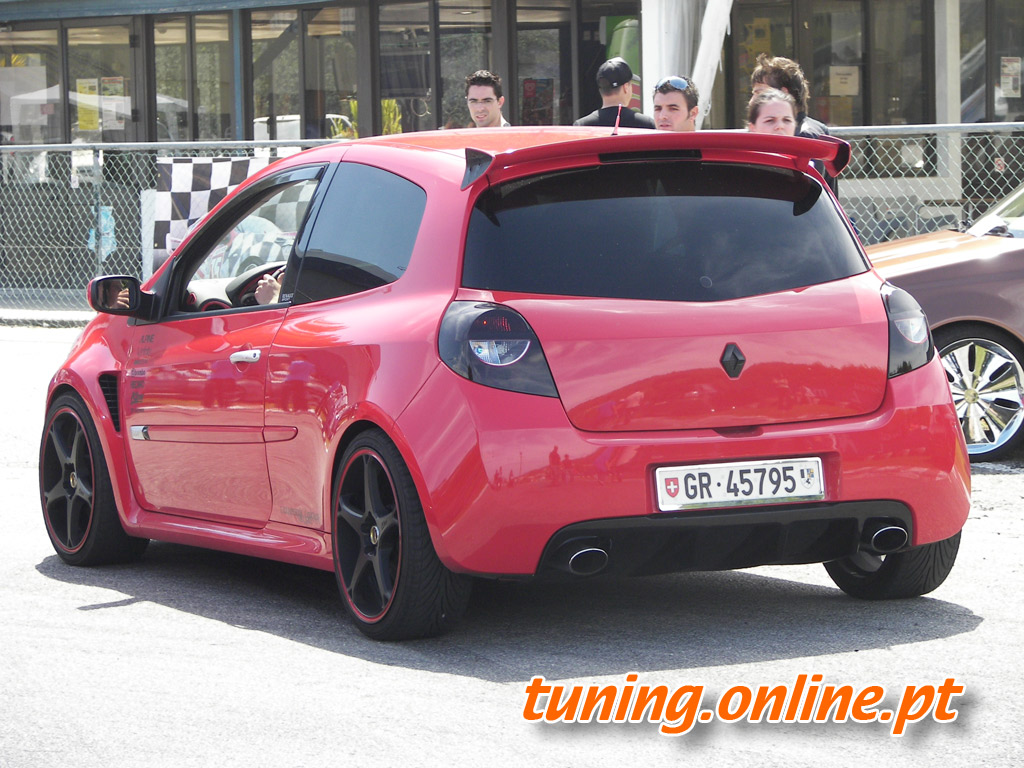 fotografia de renault clio tuning tuning online. Black Bedroom Furniture Sets. Home Design Ideas