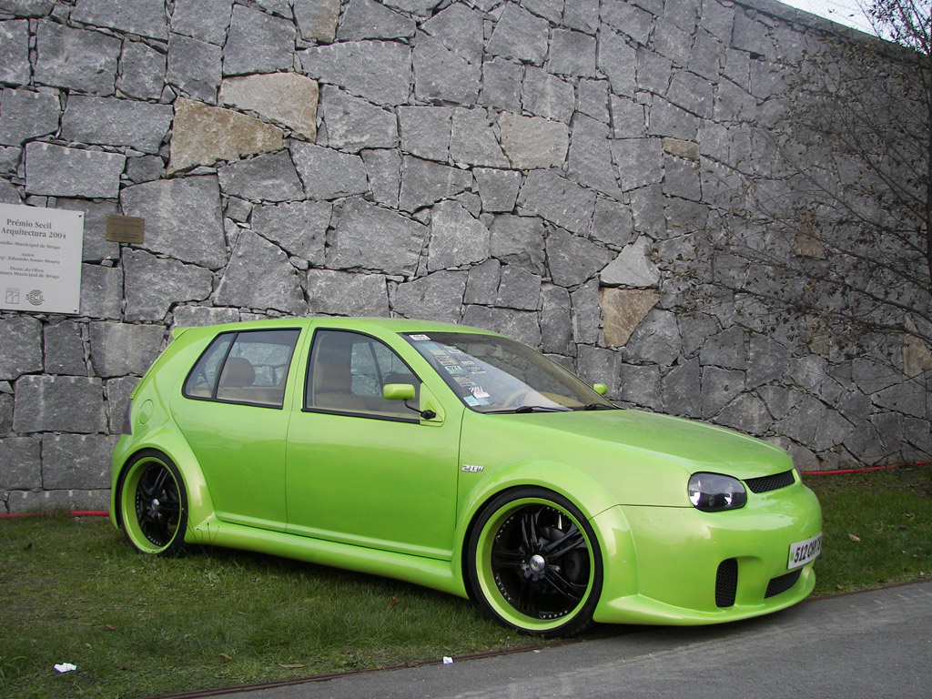 fotografia de vw golf iv tuning tuning online. Black Bedroom Furniture Sets. Home Design Ideas