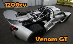 Venom GT com 1200cv