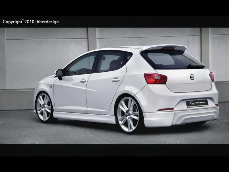 fotografia de seat ibiza 6j 2009 lynx tuning online. Black Bedroom Furniture Sets. Home Design Ideas