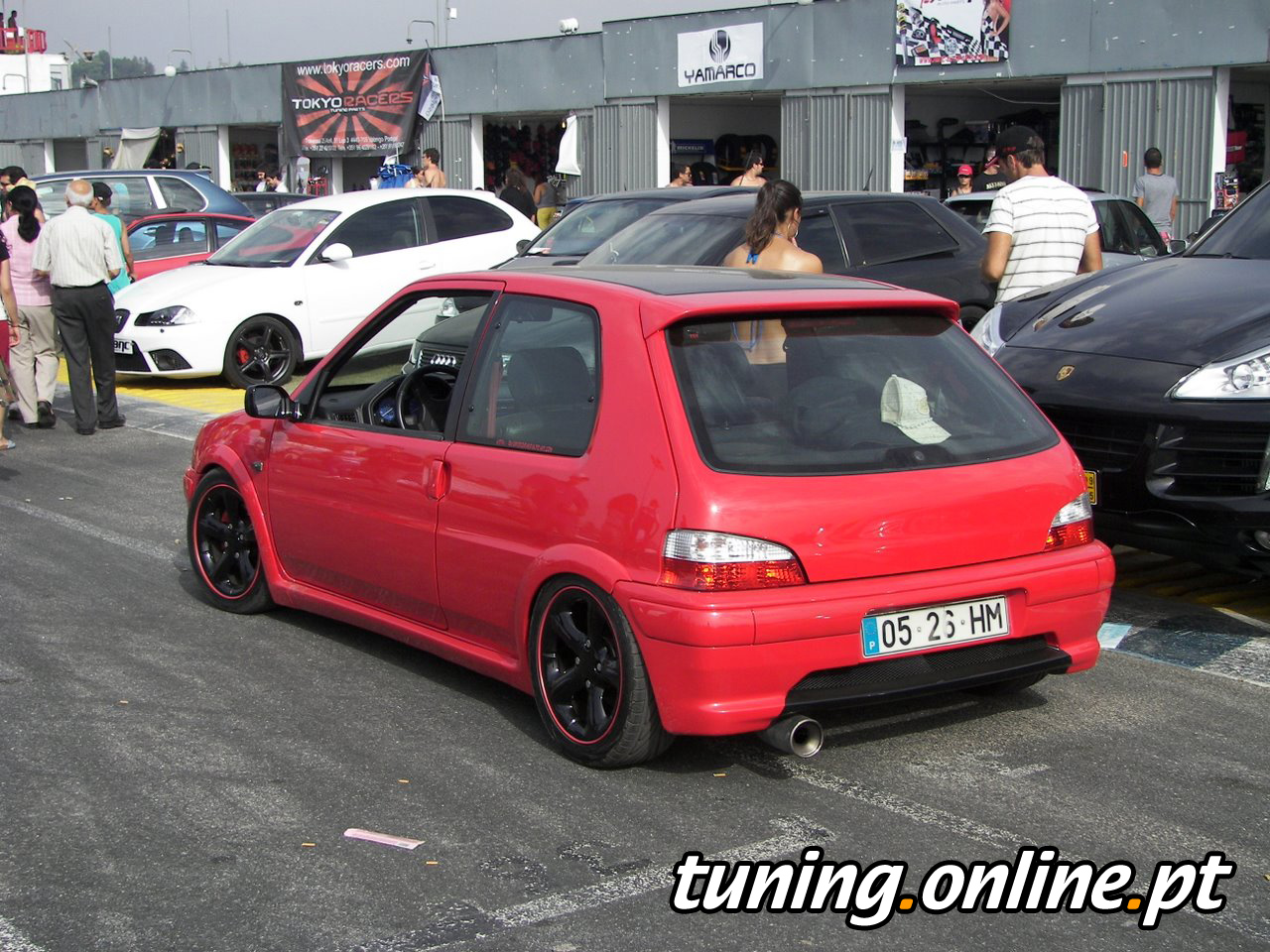 fotografia de tuning braga peugeot 106 tuning online. Black Bedroom Furniture Sets. Home Design Ideas