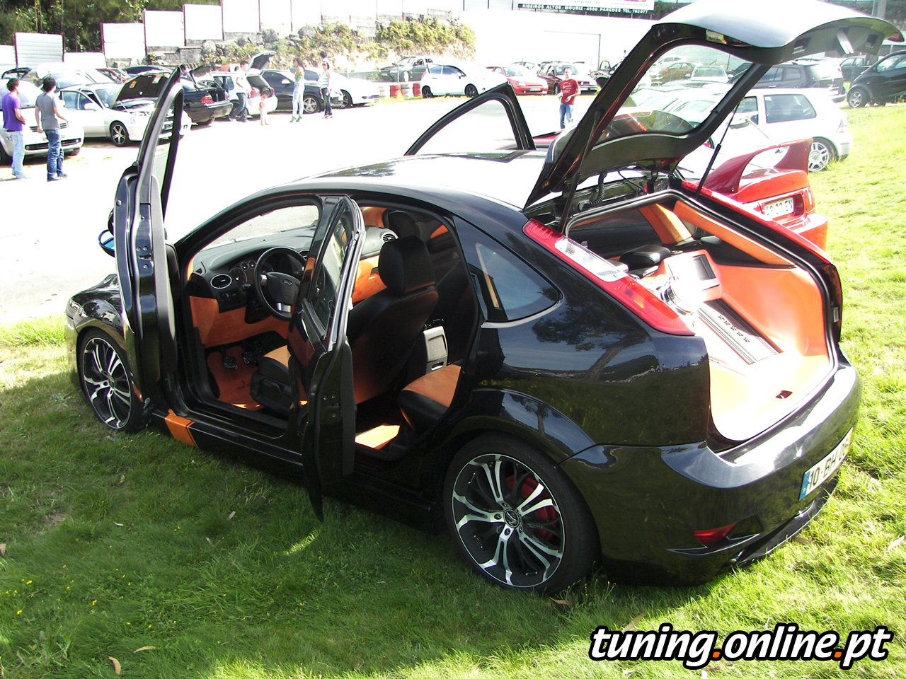 fotografia de ford focus tuning tuning online. Black Bedroom Furniture Sets. Home Design Ideas