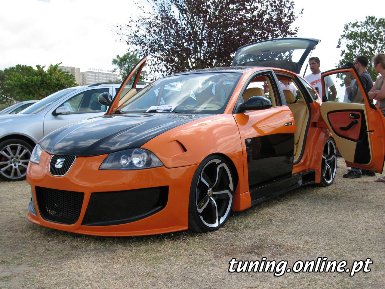 fotografia de seat ibiza tuning online. Black Bedroom Furniture Sets. Home Design Ideas