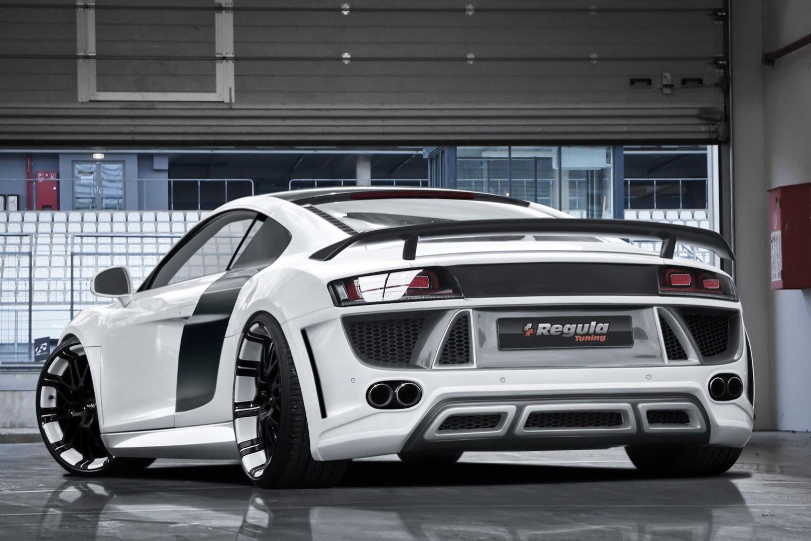 Regula Tuning Audi R on Audi R8 Regula