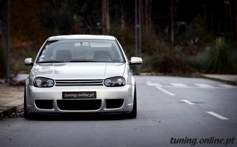 VW Golf R32 look