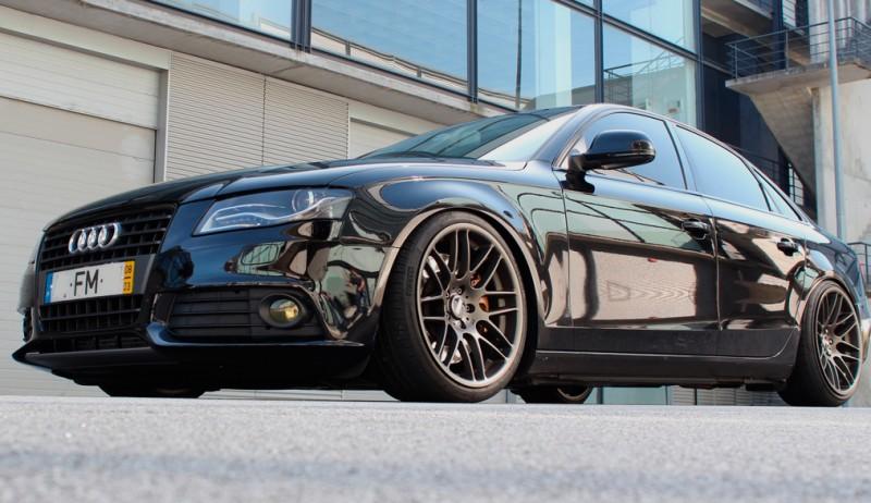 Audi A4 B8 Stanced By Bari