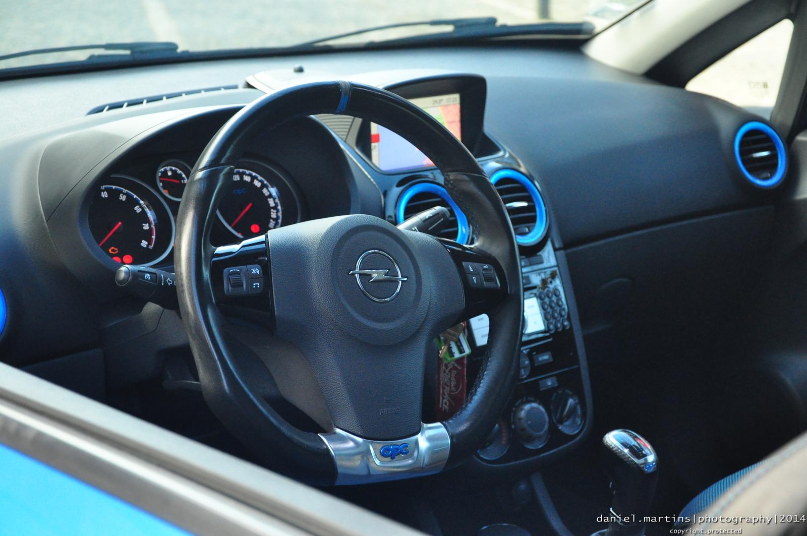 Interior Opel Corsa OPC