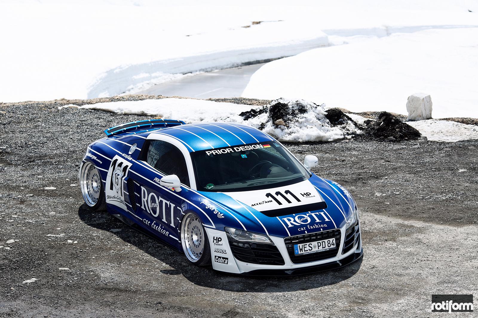 Audi R8 boss